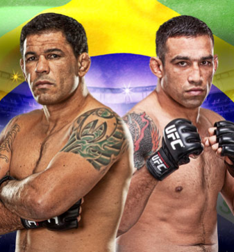 UFC on FUEL TV 10 En direct du Br&eacute;sil Nogueira vs Werdum