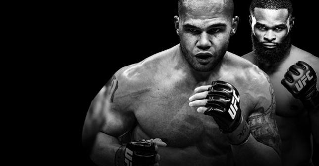 UFC 201 Lawler x Woodley No Combate
