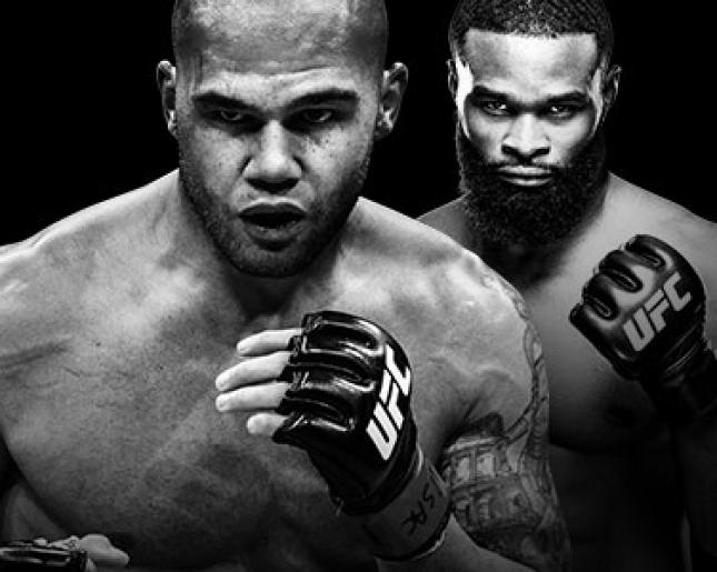 UFC 201 Lawler vs Woodley En direct à la télé à la carte