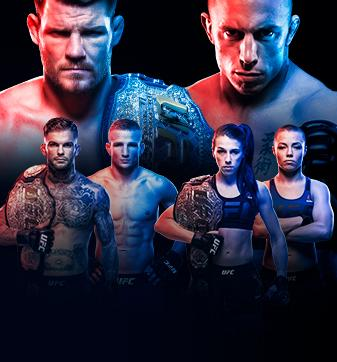 UFC 217 Bisping vs St-Pierre En direct à la télé à la carte