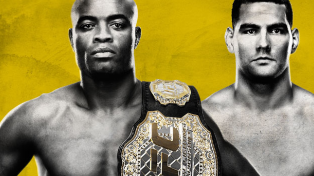 UFC 162 Live on Pay-Per-View Silva vs. Weidman