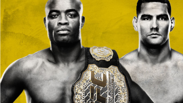 UFC 162 Live on CMore Silva vs. Weidman