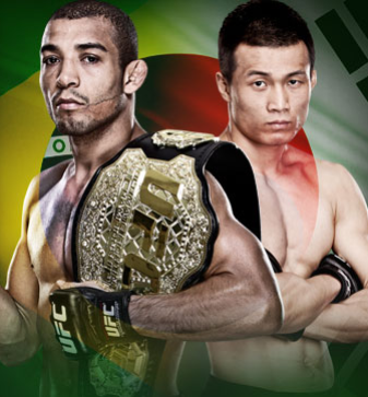UFC Rio  Ao vivo no Pay-Per-View Aldo vs. Korean Zombie