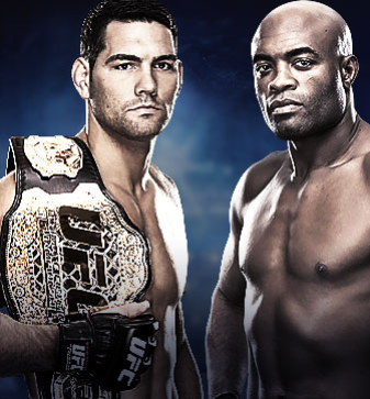 UFC 168 Live on BT Sport Weidman vs. Silva 2