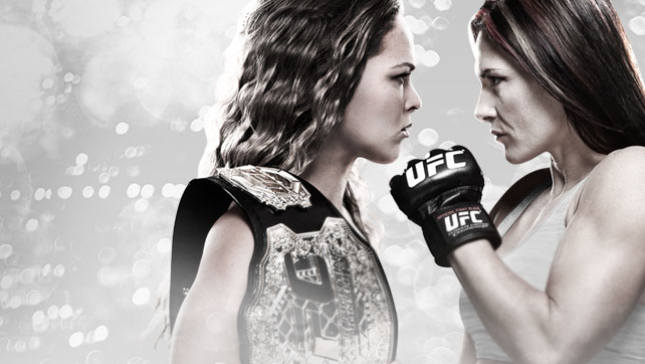 UFC 184 Rousey vs. Zingano Live on CMORE
