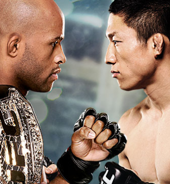 UFC 186 Johnson x Horiguchi No Combate