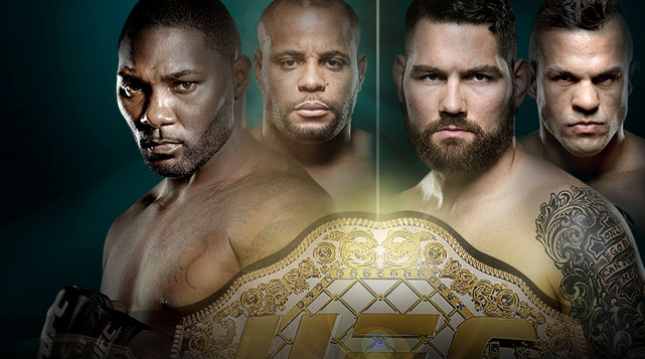 UFC 187 Johnson vs. Cormier Live on Pay-Per-View