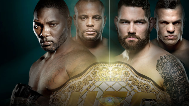 UFC 187 Johnson vs. Cormier Live on UFC.TV