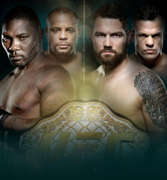 UFC 187 Jones vs. Johnson Live on CMORE