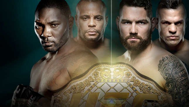 UFC 187 Johnson vs. Cormier Live on BT Sport 2
