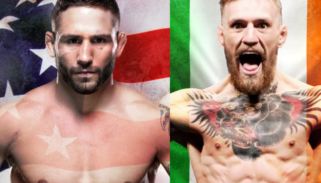 UFC 189 Mendes vs. McGregor Live on Pay-Per-View