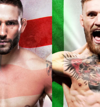 UFC 189 Aldo vs. McGregor No Combate