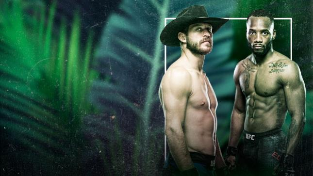UFC Fight Night Cowboy vs Edwards Live on Fight Network