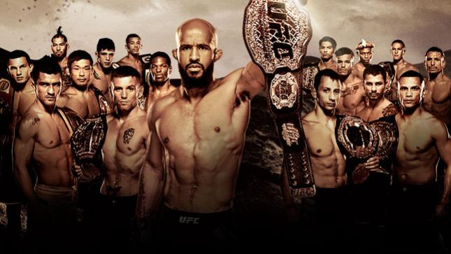 The Ultimate Fighter A Tournament of Champions Finale Live on BT Sport