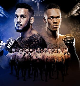 The Ultimate Fighter Finale Tavares vs Adesanya Live on BT Sport