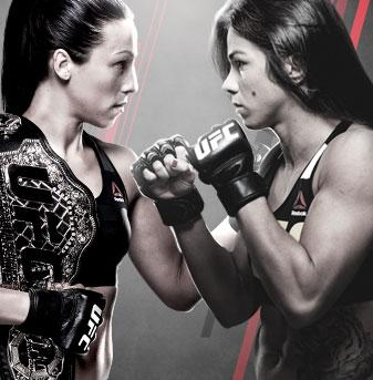 The Ultimate Fighter Finale Team Joanna vs. Team Claudia FS1