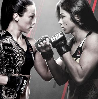 The Ultimate Fighter Finale Team Joanna x Team Claudia No Combate