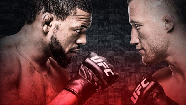 The Ultimate Fighter Finale Johnson x Gaethje No Combate