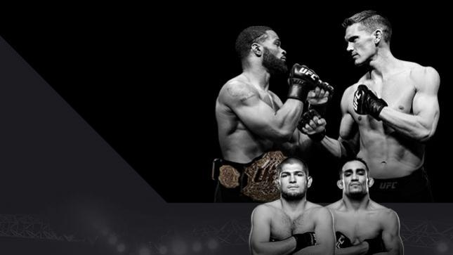 UFC 209 Woodley x Thompson 2 No Combate