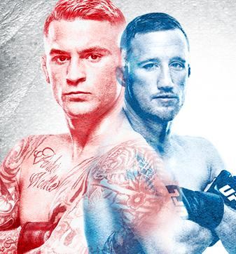UFC Glendale Poirier x Gaethje No Combate