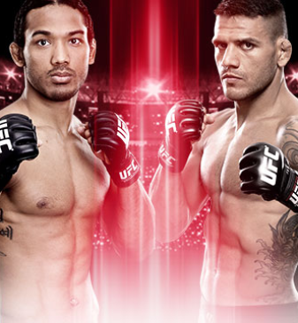 UFC Fight Night Henderson x Dos Anjos no Combate