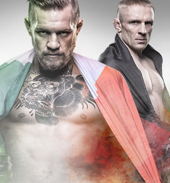 UFC Fight Night McGregor vs. Siver no Combate