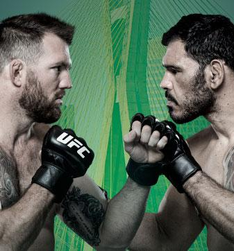 UFC Fight Night Bader x Minotouro No Combate