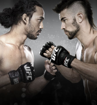 UFC Fight Night Brown vs. Saffiedine no Combate