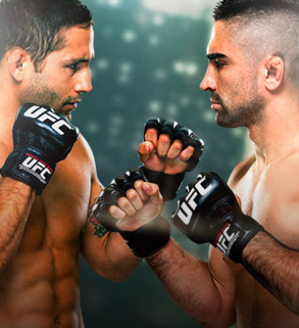 UFC Fight Night Mendes x Lamas No Combate
