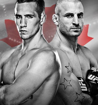 UFC Fight Night MacDonald x Saffiedine No Combate