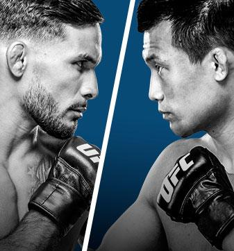 UFC Fight Night Bermudez vs Korean Zombie Live on BT Sport