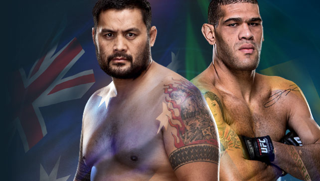 UFC Fight Night Live on BT Sport 1 Hunt vs. Bigfoot