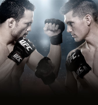 UFC Fight Night Ellenberger X Thompson No Combate