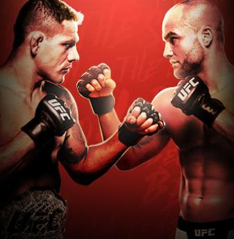UFC Fight Night Dos Anjos x Alvarez No Combate
