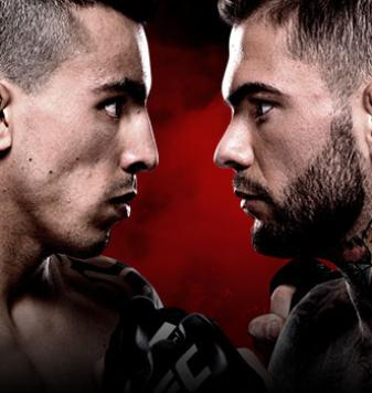 UFC Fight Night Almeida x Garbrandt No Combate
