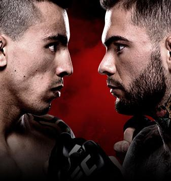 UFC Fight Night Almeida vs. Garbrandt Sky Sport Pop-Up 3