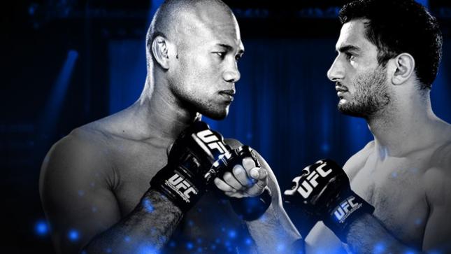 UFC Fight Night Jacaré x Mousasi no Combate