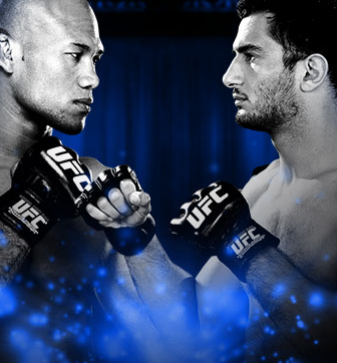UFC Fight Night Souza vs. Mousasi no Combate