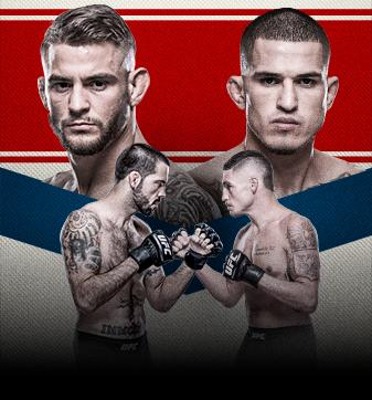 UFC Fight Night Poirier vs Pettis Live on TBD