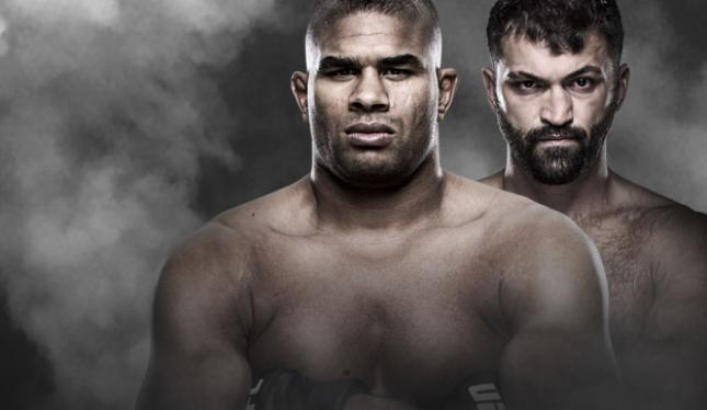 UFC Fight Night Overeem vs. Arlovski TSN 2