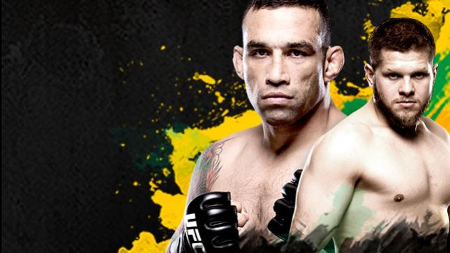 UFC Fight Night Werdum vs Tybura Live on FOX Sports 6 & EDGESport & FIGHT PASS