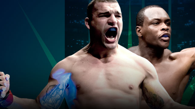 UFC Fight Night Shogun x Saint Preux no Combate