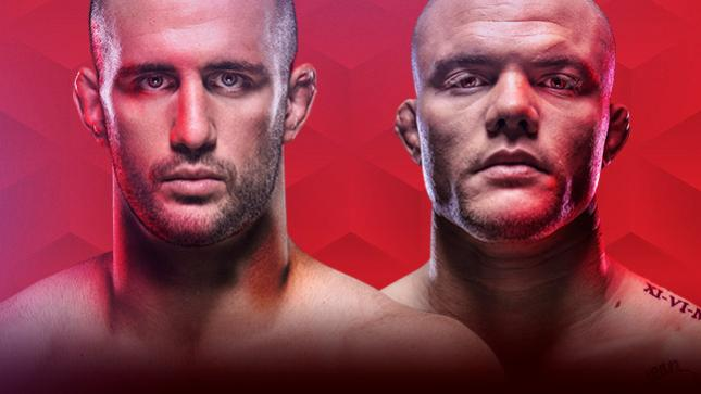UFC Fight Night Volkan vs Smith Live auf UFC FIGHT PASS