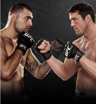 UFC: Shogun vs. Sonnen Live on CMore Shogun vs. Sonnen