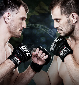 Final de TUF Brasil Dos Santos vs. Miocic FOX Sports 1