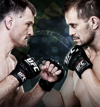 TUF Brazil Finale Dos Santos vs. Miocic UFC Fight Pass
