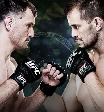 TUF Brazil Finale Dos Santos vs. Miocic Fuel TV and FOX Sports