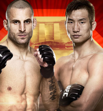 UFC FIGHT NIGHT Saffiedine vs. Lim Singapore