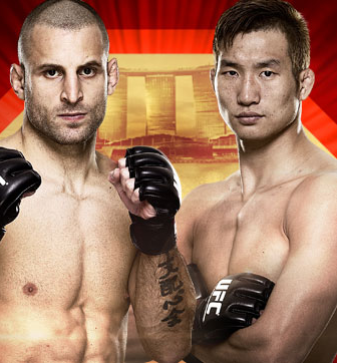 UFC Fight Night Tarec Saffiedine vs Hyun Gyu Lim Singapour
