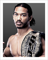 Benson Henderson - Detentor do cintur&atilde;o: Lightweight
